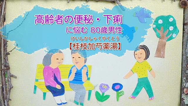 高齢者の便秘・下痢に悩む 80歳男性【桂枝加芍薬湯】