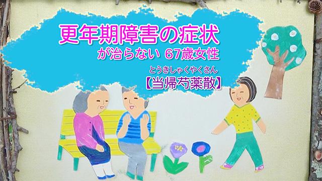 更年期障害の症状が治らない 67歳女性【当帰芍薬散】